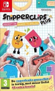 Snipperclips Plus Cut it out together - Switch