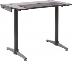 De X Rocker Panther Gaming Desk