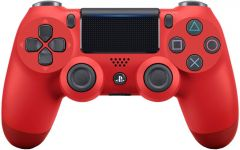 Sony Wireless Dualshock PlayStation 4 Controller V2 (Magma Red)