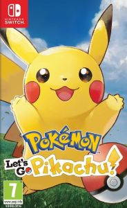 Pokemon Let's Go Pikachu! - Switch