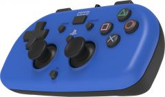 Hori Wired Mini Gamepad (Blue) - PS4