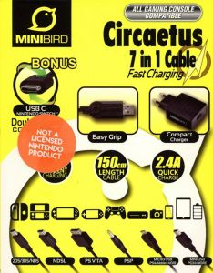MiniBird Circaetus 7 in 1 Fast Charging Cable
