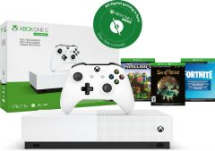 Xbox One S All-Digital Edition 1TB + Fortnite + Sea of thieves + Minecraft