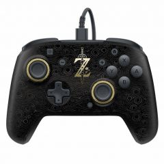 PDP Faceoff Deluxe Wired Pro Controller (Breath of the Wild Edition) - Switch