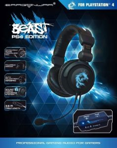 Dragon War PS4 Beast Headset_01