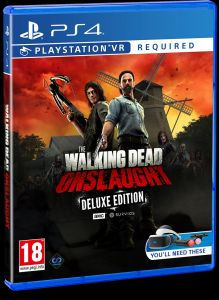 The Walking Dead Onslaught VR - Deluxe Edition - PS4